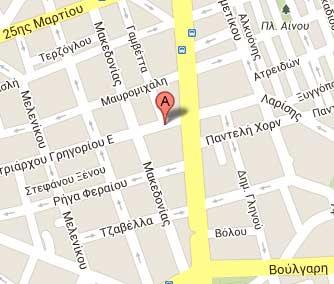 κατάστημα στο χάρτη Θεσσαλονίκης