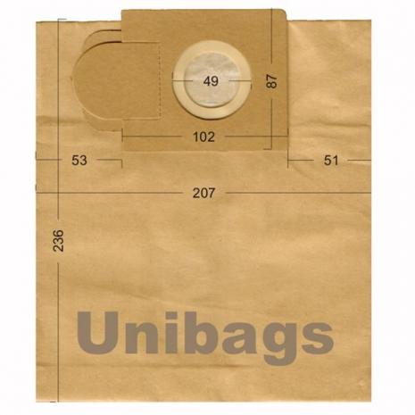 Σακούλες για  ALASKA, ARIETE, HOBBY, JUROPRO κ.ά Primato 1210