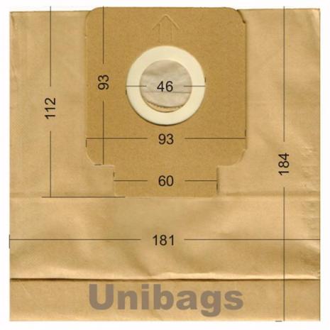 Σακούλες για HOOVER, CELECT, HQ. Primato 1478