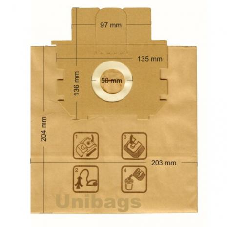 Σακούλες για VOLTA, ELECTROLUX, PROGRESS, ALFATEC, ECOCLEAN, κ.ά. Primato 1480