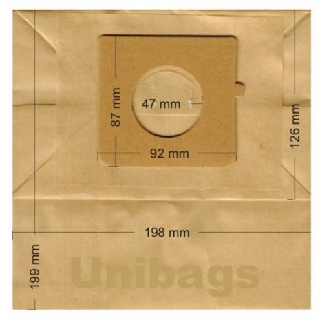 Σακούλες για  LG, BLUESKY, CLATRONIC, HOBBY, HOLLAND ELECTRO κ.ά. Primato 1850