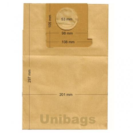 Σακούλες για FAKIR, BAUKNECHT, BRAUN, ECOCLEAN κ.ά. Primato 1930