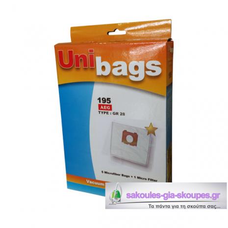 Χάρτινες σακούλες για  VOLTA, AEG, BLUESKY, ELECTROLUX κ.ά Primato 195D