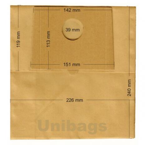 Σακούλες για FAM, BAUER, CURTISS, ECOCLEAN, MALAG, SLOBODA. Primato: 1970
