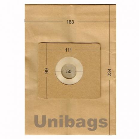 Σακούλες για AEG, EVERGLADES, HQ, SANYO, SEVERIN, TRISTAR, Primato 1995