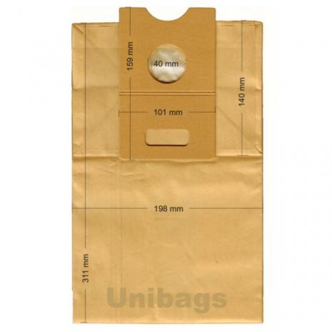 Σακούλες για HOOVER, ELECTROLUX, PROGRESS, BRAUN, ECOCLEAN κ.ά. Primato 380