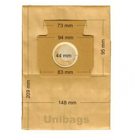 Σακούλες για  MIELE, ECOCLEAN, EUROFILTERS, FILTERCLEAN, HQ, MALAG, SWIRL κ.ά Primato 520