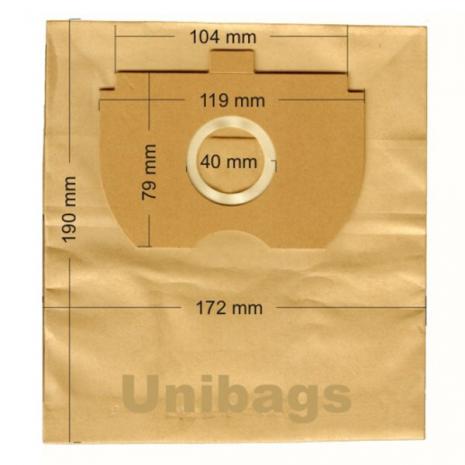 Σακούλες για BOB HOME, BOMANN, ETA. Primato: 845